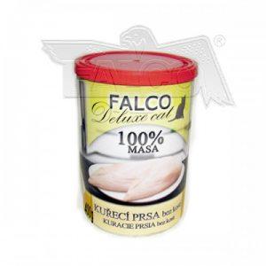 FALCO CAT Deluxe KURACIE PRSIA BEZ KOSTI 400g