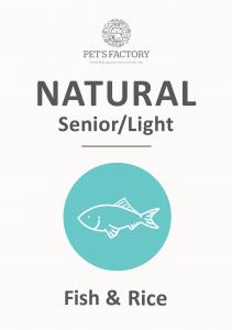 PET'S FACTORY Natural Senior/Light