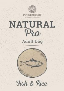 PET'S FACTORY Natural PRO Fish & Rice