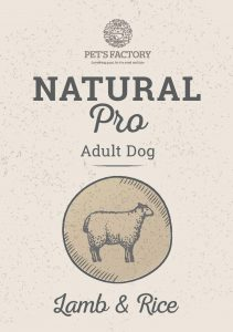 PET'S FACTORY Natural PRO Lamb & Rice