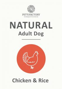 PET'S FACTORY Natural Chicken & Rice