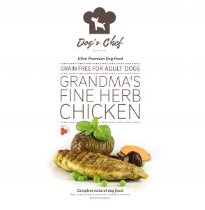 DOG'S CHEF Grandma's Fine Herb Chicken