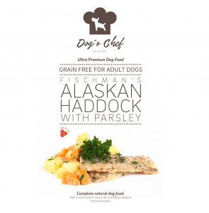 DOG'S CHEF Fischman's Alaskan Haddock with Parsley