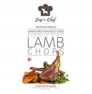 DOG'S CHEF Herdwick Minty Lamb Chops
