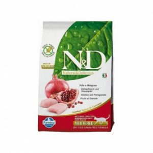N&D cat GF Neutered Chicken & Pomegranate