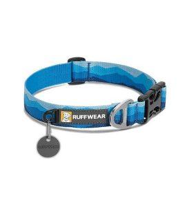 Ruffwear Hoopie Dog Collar Blue Mountain