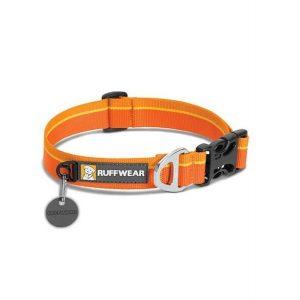 Ruffwear Hoopie Dog Collar Orange Sunset