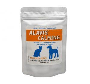 ALAVIS Calming pre psov a mačky 45g/ 30 žuvacích tabliet