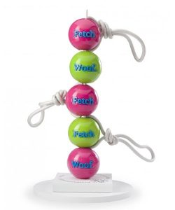 PLANET DOG Orbee-Tuff Fetch Rope Ball