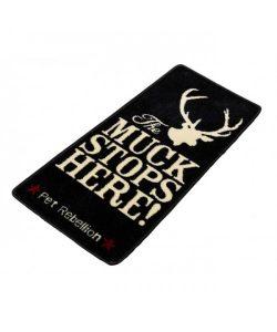 Pet Rebellion Stop Muddy Paws Muck Black