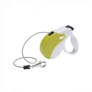 Ferplast AMIGO Flexi vodítko Cord White-Green
