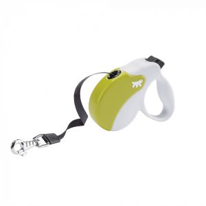 Ferplast AMIGO Flexi vodítko Tape White-Green