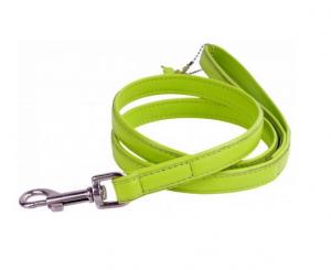 Collar Glamour kožené vodítko Lime