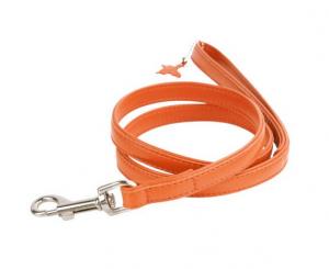 Collar Glamour kožené vodítko Orange