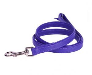 Collar Glamour kožené vodítko Purple