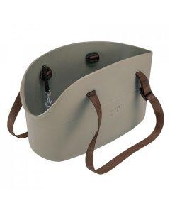 Ferplast Pet Bag WITH ME taška na psa sivo-hnedá