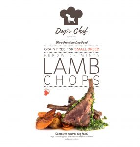 DOG'S CHEF Herdwick Minty Lamb Chops for SMALL BREED