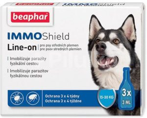 Beaphar Line-on IMMO Shield pre psov M – 9ml