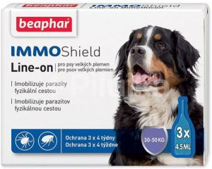 Beaphar Line-on IMMO Shield pre psov L – 13,5ml