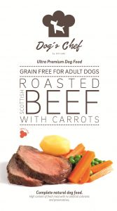 DOG'S CHEF Roasted Scottish Beef with Carrots