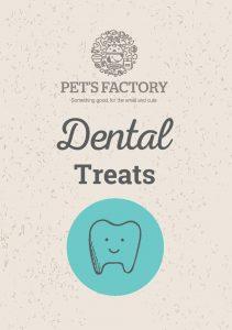 PET´S FACTORY Health Care Dental Treats 70 g