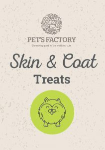PET´S FACTORY Health Care Skin& Coat Treats 70 g