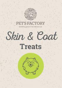 PET´S FACTORY Health Care Skin& Coat Treats 70 g