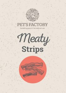 PET´S FACTORY Meaty Strips 150 g