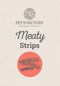 PET´S FACTORY Meaty Strips 150 g