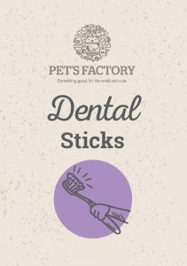 PET´S FACTORY Health Care Dental Sticks 140 g (7 ks)