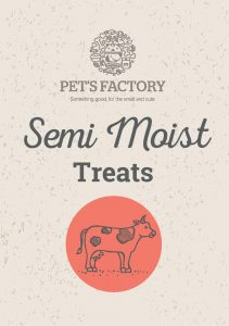 PET´S FACTORY Semi-Moist Treats 250 g