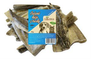 NATURECA Sušená koža z tresky – 50 g
