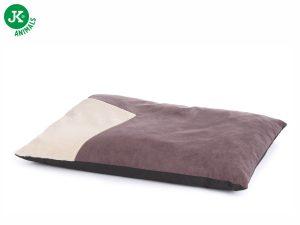 Poduška Olaf hnedá L, veľkosť 100×68×10 cm