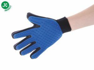 Gumová vyčesávacia masážna rukavica