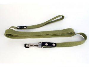 Bavlnené reflexné výcvikové vodítko stopovacie s obratlíkom