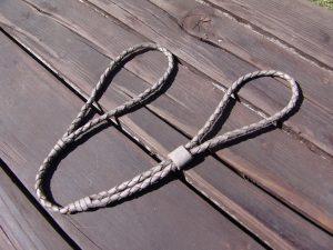 PET´S FACTORY ELITE SHOW – výstavné vodítko pletené z hov.kože