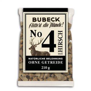 BUBECK Nr.4 Hirsch 210 g – monoproteínová maškrta z jelenieho mäsa