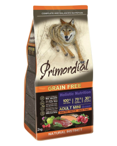 Primordial GF Adult Mini Adult Trout & Duck 2 kg