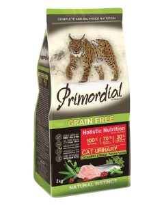 Primordial GF Cat Urinary Turkey & Herring 2 kg