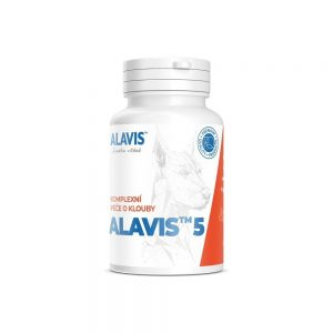 Alavis 5 kĺbová výživa pre psy a mačky 90tbl