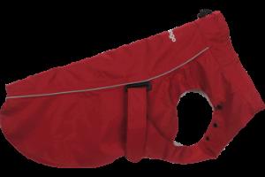 Pršiplášť pre psa Red Dingo červený