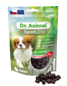 Pamlsok Dr. Animal Sportline rabbit 100 g