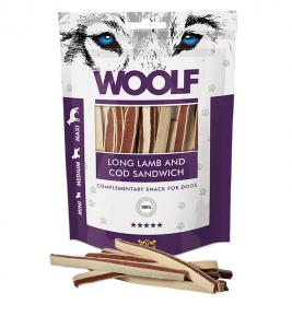 Woolf Dog Lamb & Codfish Soft Sandwich LONG 100 g