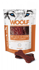 Woolf Dog Big Bone Of Duck & Carrot 100 g