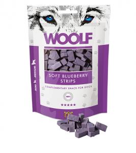 Woolf Dog Blueberry & Chicken Soft Strips 100 g