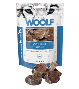Woolf Dog Codfish Sushi 100 g