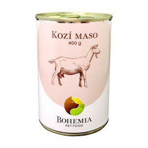 BOHEMIA Kozie mäso vo vlastnej šťave 400 g