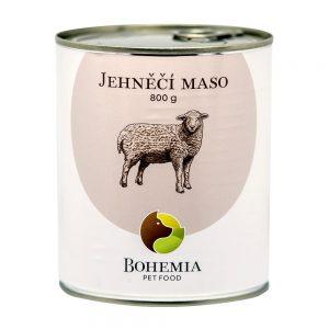 BOHEMIA Jahňacie mäso vo vlastnej šťave 800 g