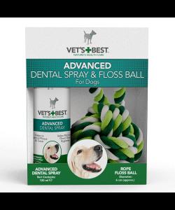VET´S BEST Dentálny sprej + lano pre psy,