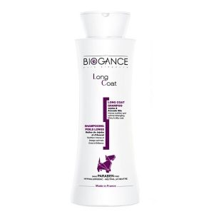 Šampón BIOGANCE Long Coat 250 ml (pre dlhú srsť )